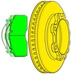 Thumb braking icon