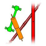 Thumb suspension icon